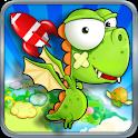 Dino Fly FREE logo
