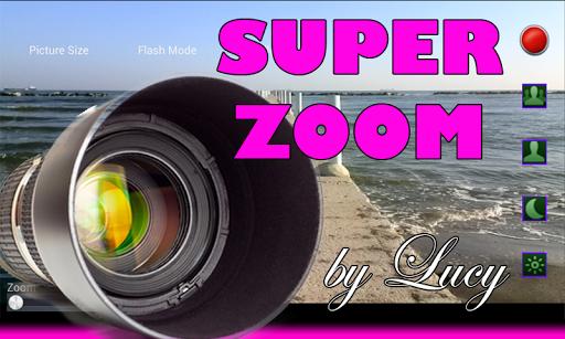 ルーシーによる超ズームカメラ