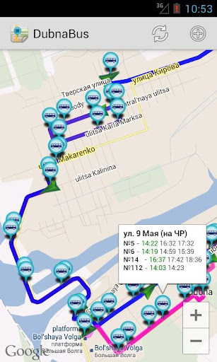DubnaBus|玩交通運輸App免費|玩APPs
