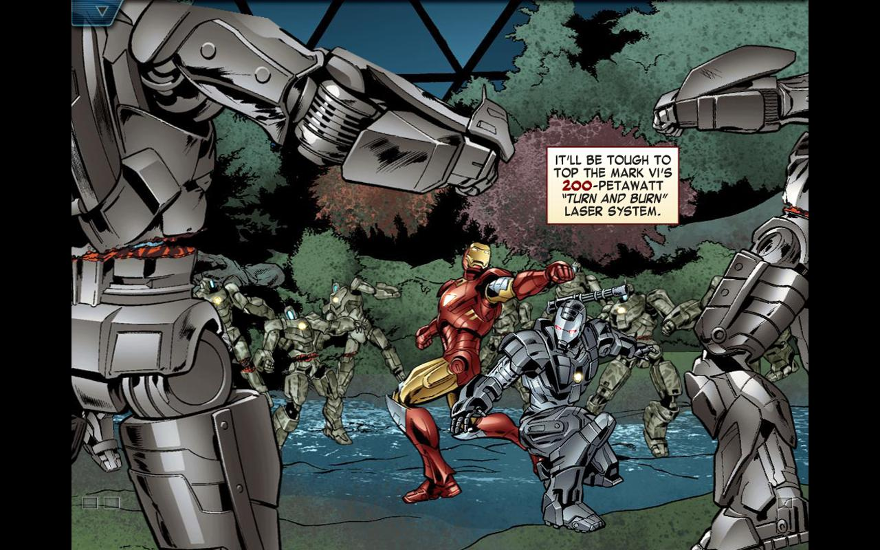 The Avengers-Iron Man Mark VII- screenshot