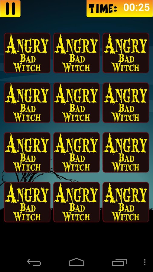 Angry Bad Witch - screenshot