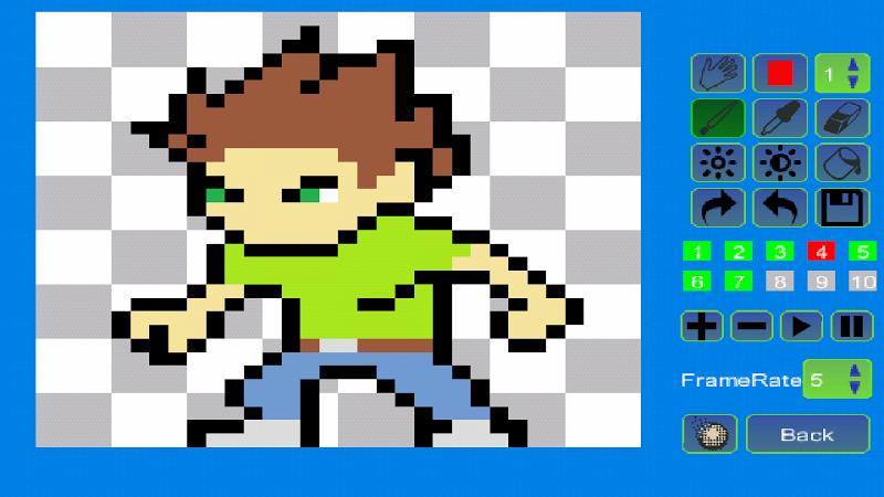 Pixel Animator:GIF Maker Screenshot 7