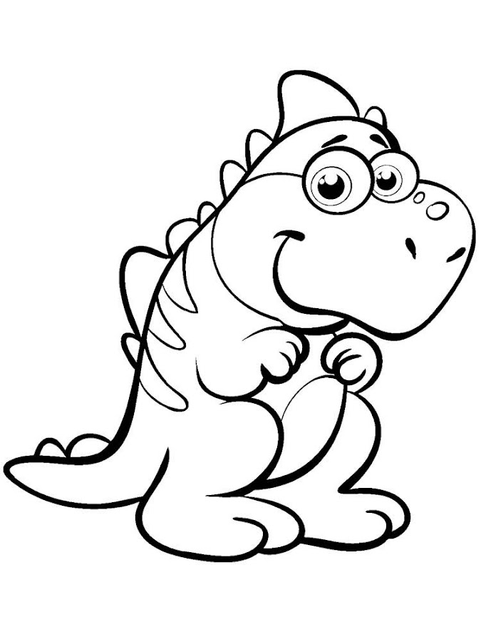 Dinosaur Coloring Book - screenshot
