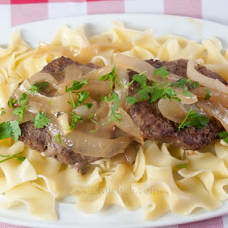 Salisbury Steak with Onions