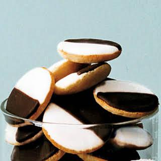 Mini Black-and-White Cookies.