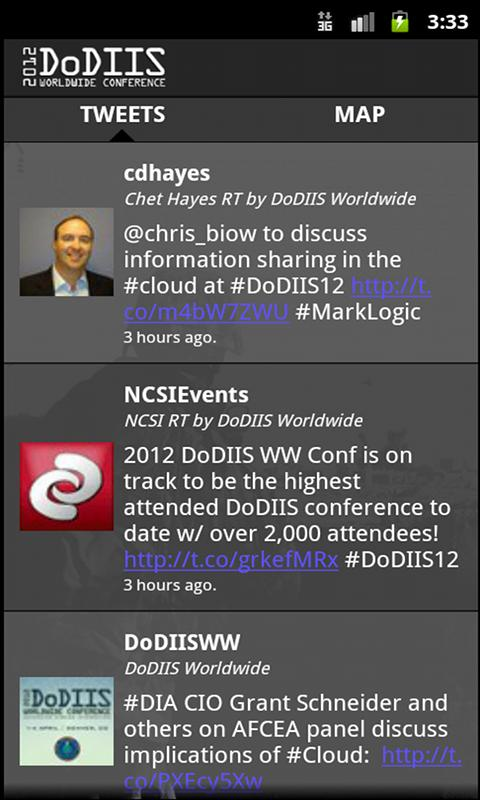 DoDIIS 2012 - screenshot