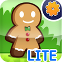Gingerbread Dash! LITE logo