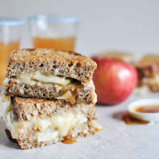 Caramel Apple Grilled Cheese.
