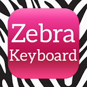 Keyboard Backgraund Zebra