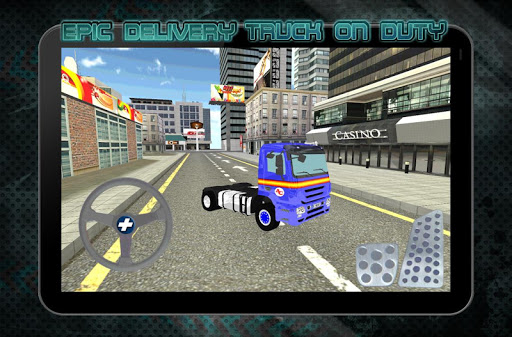 玩免費模擬APP|下載值班史诗送货车 app不用錢|硬是要APP
