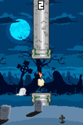 Flappy Ghost - FREE
