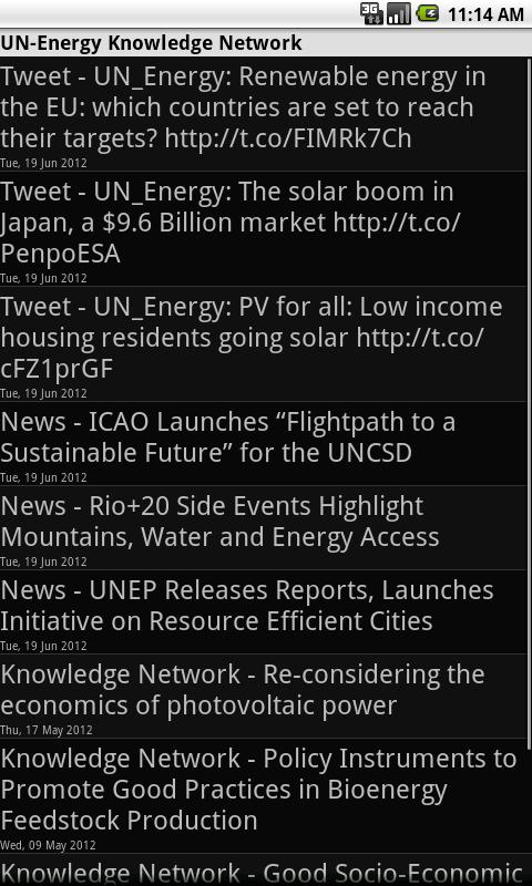 UN-Energy - screenshot