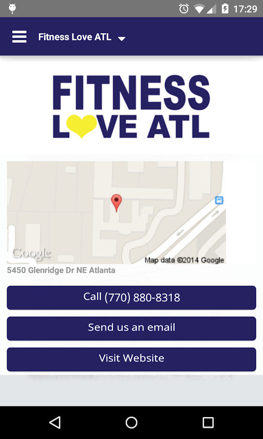 Fitness Love ATL- screenshot