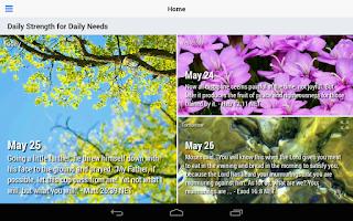 Screenshot of Daily Strength (Lite)