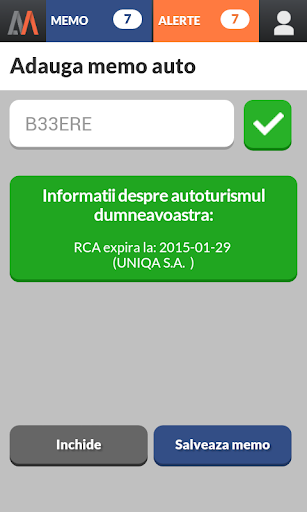 Verifica RCA >> AutoMemo