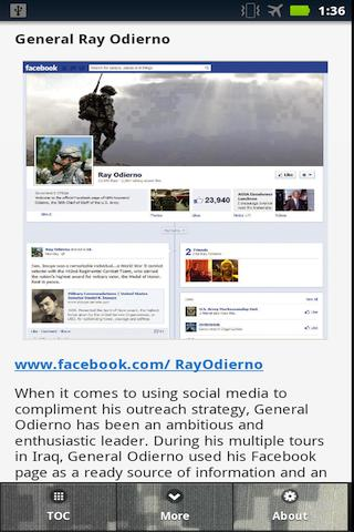 US Army Social Media Handbook- screenshot