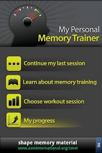 Memory Trainer- screenshot thumbnail