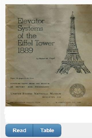 EIFFEL TOWER 1889