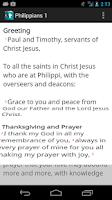 Screenshot of CrossConnect Bible (Beta)