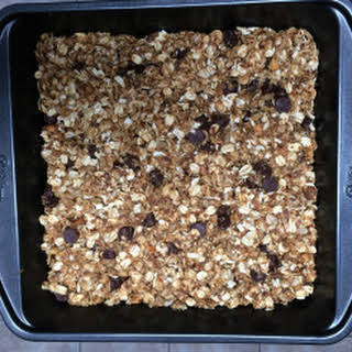 Peanut Butter and Chocolate Granola Bars.