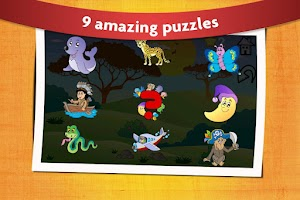 Screenshot of Animal Shape Puzzles Kids 2