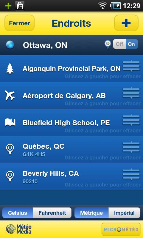 The Weather Network - screenshot