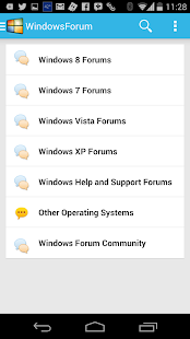 Windows Forums - screenshot thumbnail