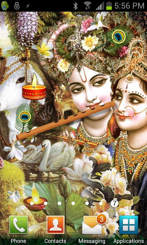 Radha Krishna Live Wallpaper - screenshot