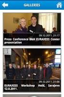 Screenshot of EURAXESS BIH WebDroid