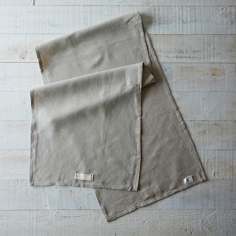 Heirloomed Linen Table Runner