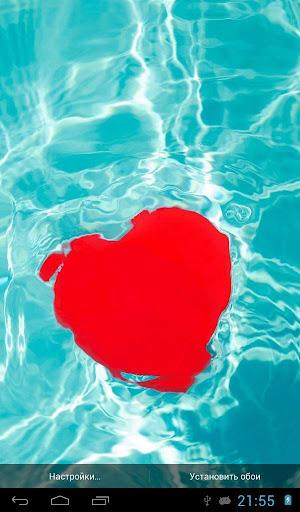 水魔術觸摸心臟