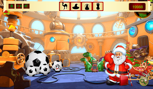 Hidden Object Santa Workshop