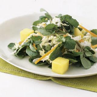 Watercress and Mango Salad
