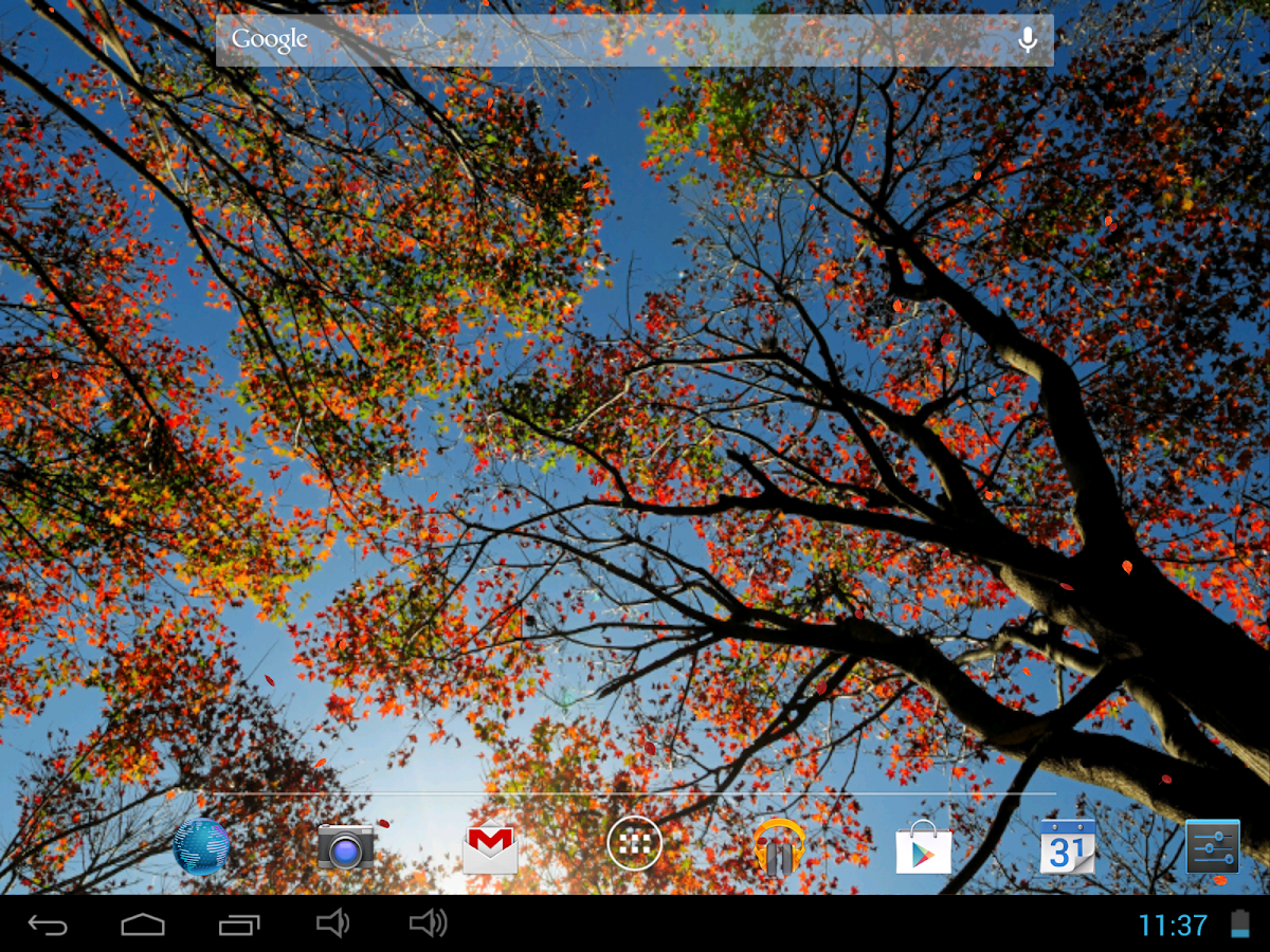 beautiful autumn free live wallpaper android apps on