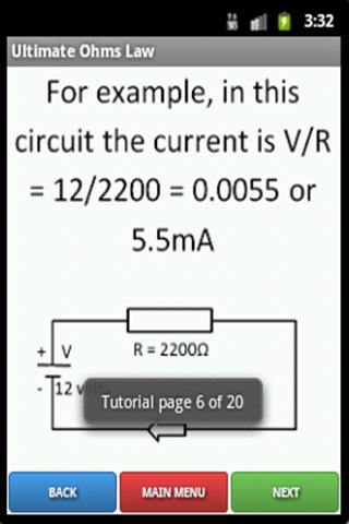 Ultimate Ohm's Law- screenshot