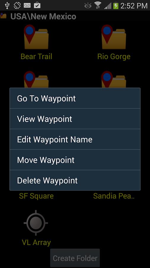 GPS Waypoints Navigator- screenshot