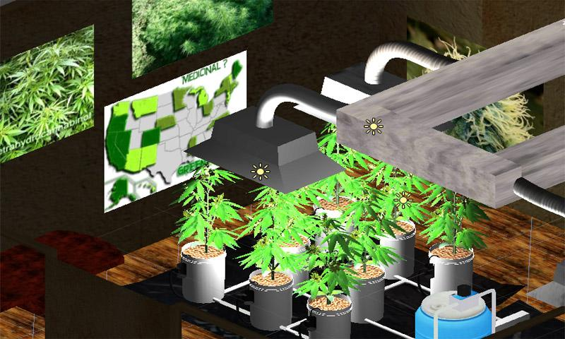Hydro Weed Grow- screenshot