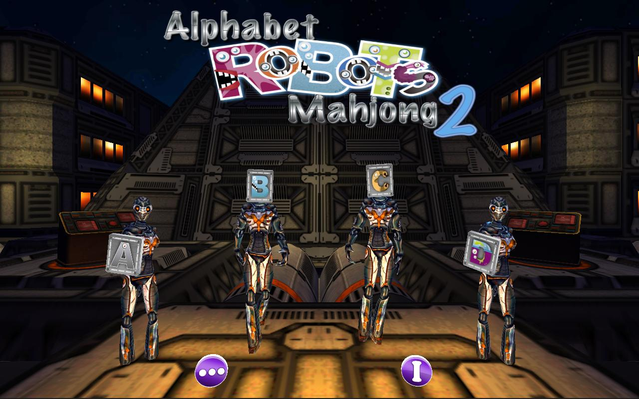 Alphabet Robots Mahjong 2- screenshot