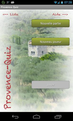Provence Quiz