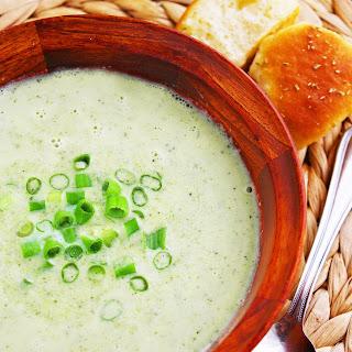 Creamy Broccoli Cauliflower Soup.