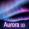 Aurora 3D free Live Wallpaper icon