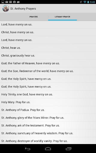 【免費生活App】St. Anthony of Padua Prayers-APP點子