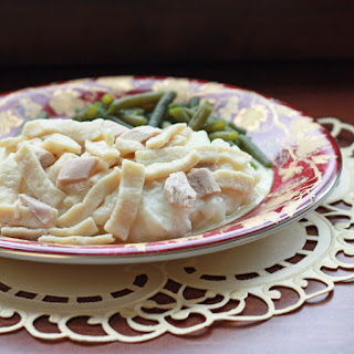 Homemade Chicken Noodles