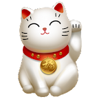 Lucky Cat 3D Background