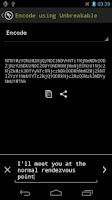 Screenshot of Gordian Secret Code Tool (Pro)