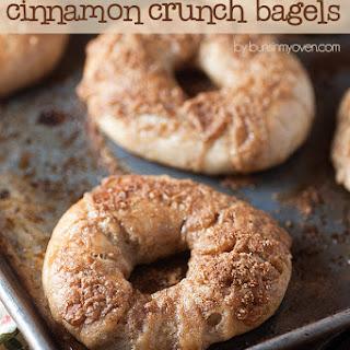Cinnamon Crunch Bagels.