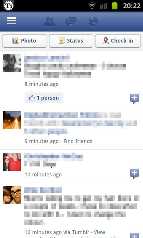 FBM for Facebook - screenshot