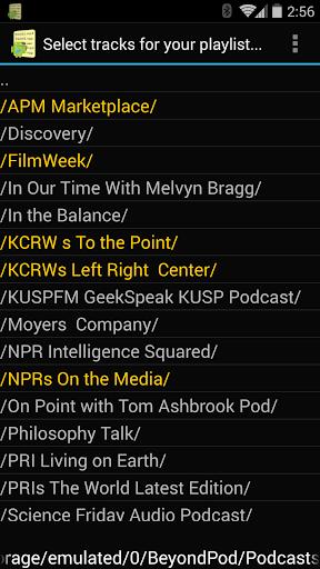 Just Playlists Plus