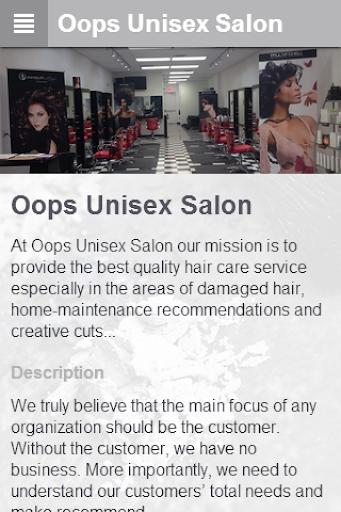 Oops Unisex Salon