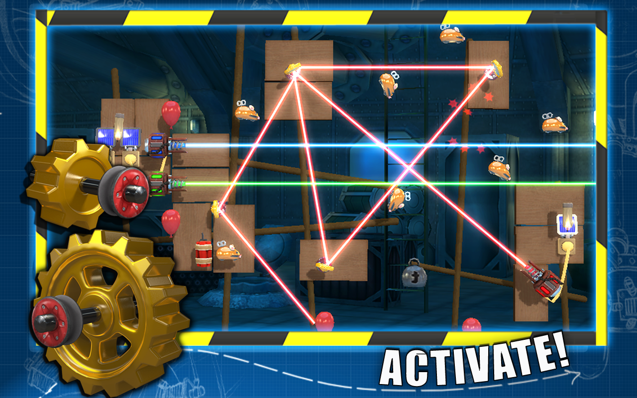 Crazy Machines GoldenGears THD- screenshot